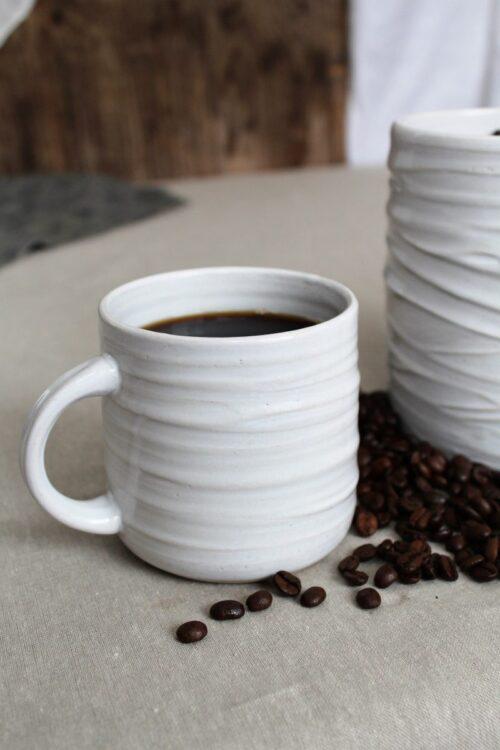 Käsintehty kahvimuki